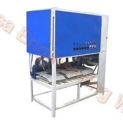 Mild Steel Triple Die Paper Plate Machine For Disposal Item