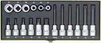18-piece special set for XZN multi-toothed screws