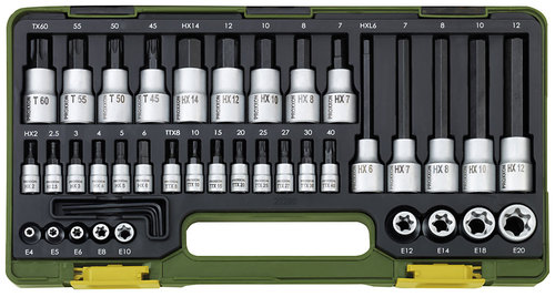Socket Sets in Compact Plastic Cases