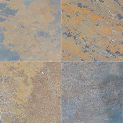 Gold Multicolor Slate
