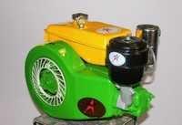 Portable Horizontal Air Cooled Diesel Engine