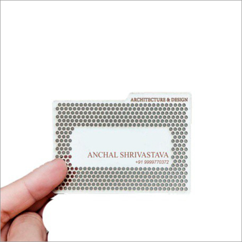Laser Cut Visiting Card