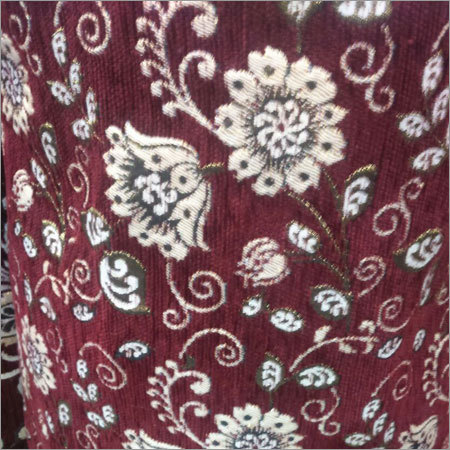Velvet Flocked Taffeta Fabric