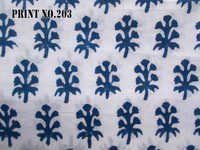 5 YARD HAND BLOCK PRINT100% COTTON FABRIC DARK NAVY BLUE BUTTI PRINT DESIGN