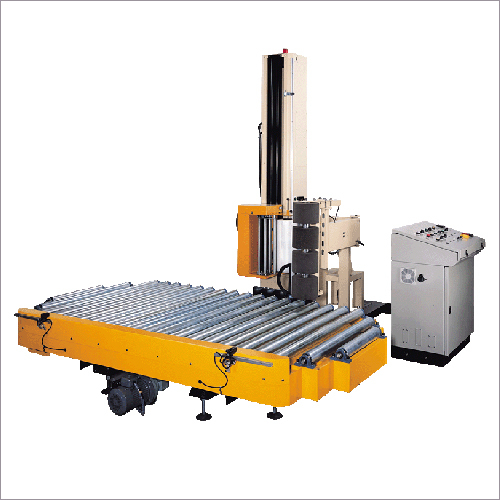 Roller Conveyor Pallet Stretch Wrapping Machines