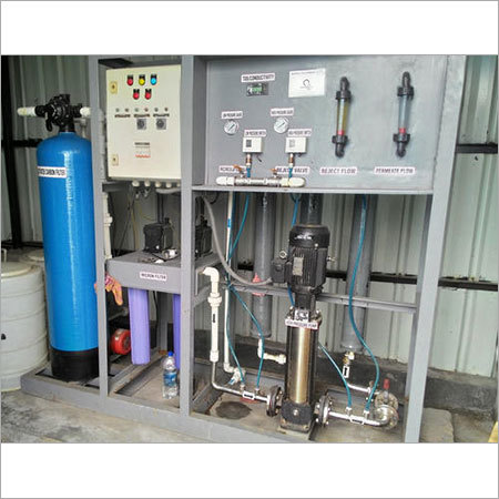 Package Distilled Water Plant