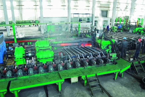 Seamless Pipe Making Machine