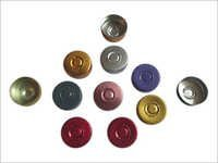 Alumnium Lacquered Tear Off Seal 20mm