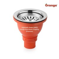 Orange Premium Sink Waste Coupling