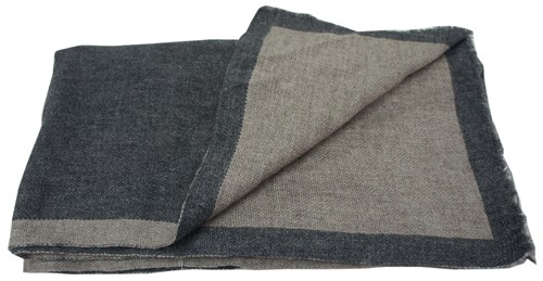 Double Face Grey Woolen Scarfs