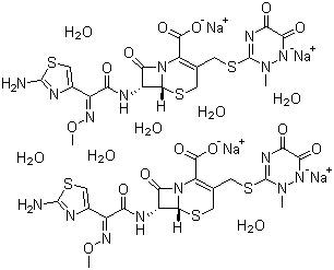 Ceftriaxone disodium salt hemi(heptahydrate)