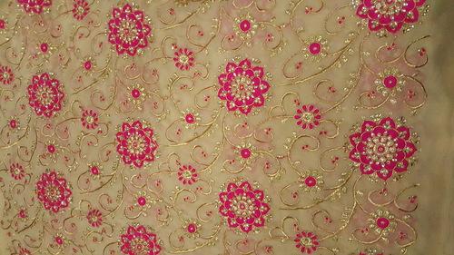 Manufacturer of Fulkari fabrics