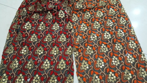 Designer Fulkari Fabrics