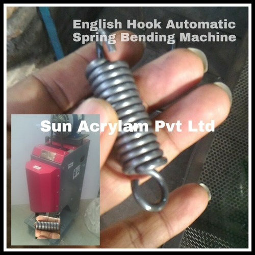 English Hook Automatic Spring Bending Machine
