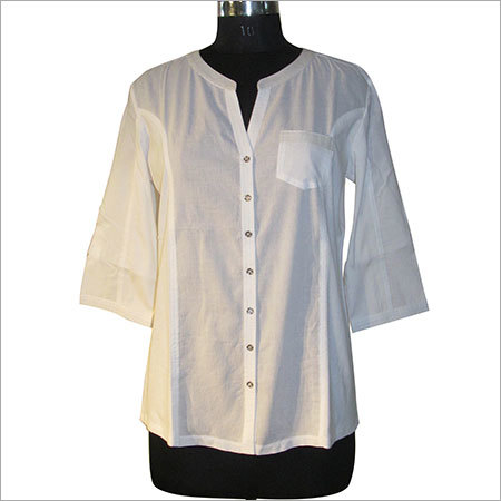 Ladies Plane Long Shirts