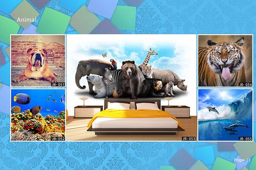 3D Animal Wallpaper
