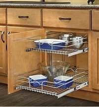 Kitchen Cabinet - Pull Out Basket