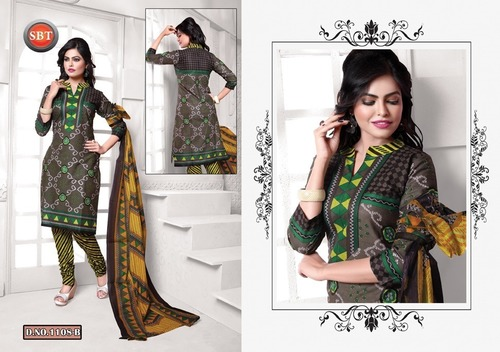 SBT Cotton Printed Dress Material