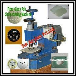 Fibre Glass PCB Circle Cutting Machine