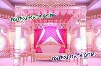 Indian Wedding Traditional Mandap