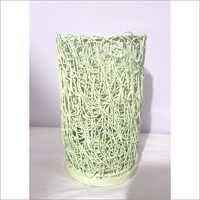 Cylindrical Wire Mash Candle Holder