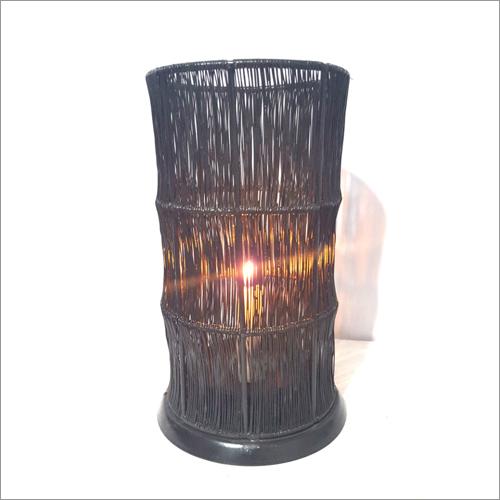 Bamboo Iron Mesh Candle  Holder