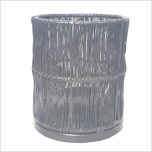 Wire Mesh Cylindrical Candle Holders