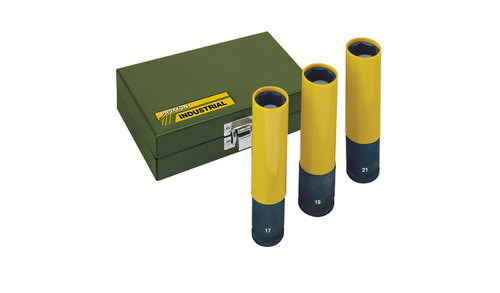 IMPACT socket set in extra long version