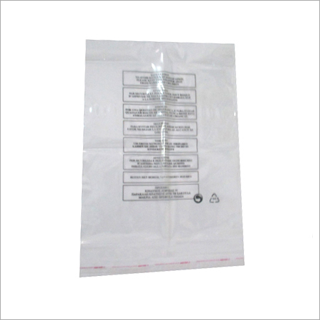 Safety Warning bags
