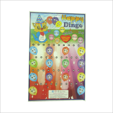 Cards For Balloon Packing