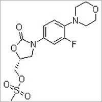 (R)-[3-(3-Fluoro-4-morpholinophenyl)-2-oxo-5-oxazolidinyl]methyl methanesulfonate