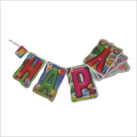 Happy Birthday banners / happy birthday danglers