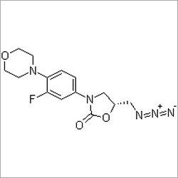 (R)-5-(Azidomethyl)-3-[3-fluoro-4-(4-morpholinyl)phenyl]-2-oxazolidinone