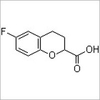 (R)-6-Fluoro-3,4-dihydro-2H-1-benzopyran-2-carboxylicacid