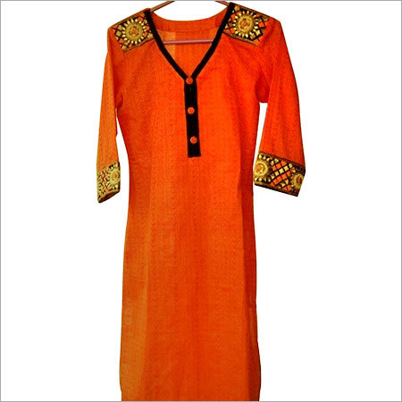Embroidery Cotton Kurtis