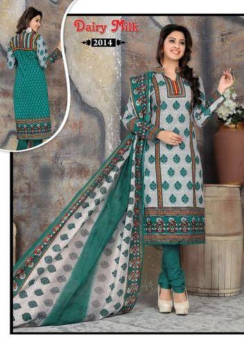 Ashapuri  Cotton Printed Dress Material