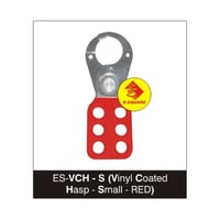Small Vinyl Coated Lockout Hasp