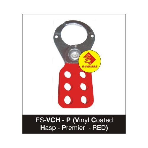 Premier RED Vinyl Coated Hasp