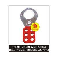 Vinyl Coated Lockout Hasp-Premier-Double Locking