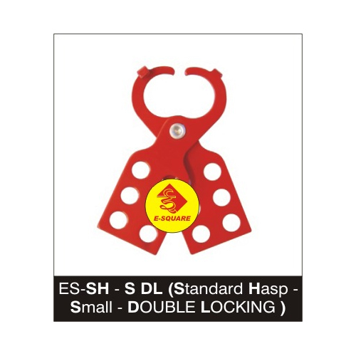 Lockout Tagout Standard Hasp-Small-DOUBLE LOCKING