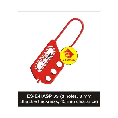 Flexible Lockout De Electric Hasp - 3 mm