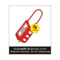 Flexible Lockout De Electric Hasp - 3 mm