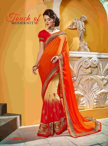 Fancy Designer Exclusive Stylish Saree