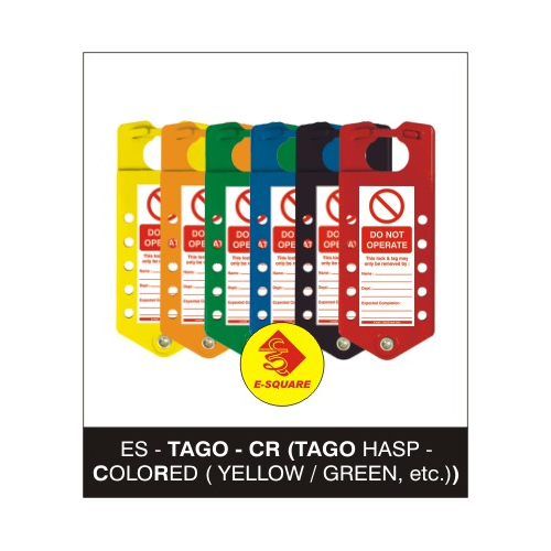 Lockout Tago Hasp - Colored