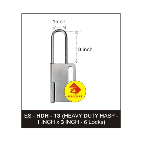 Lockout Heavy Duty Hasp - Large
