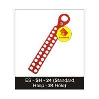Lockout Standard Hasp - 24 Hole