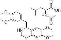 (R)-Tetrahydropapaverine N-acetyl-L-leucinate