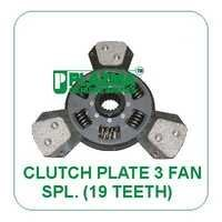 Clutch PLate 3 Fan Spl. ( 19 TH.) Green Tractors