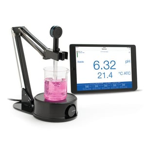 HALO Glass Body Refillable pH Electrode with Bluet