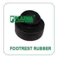 Footrest Rubber Green Tractors